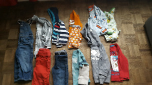 Vêtement 18-24 mois ( 12 morceaux )