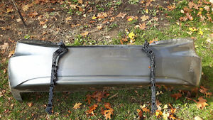 Honda Civic rear bumper with brackets