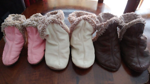 Robeez slipper and booties all for $50