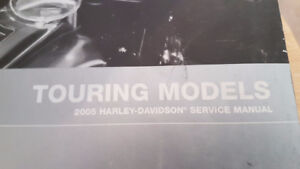 2005 Harley Davidson Service Manual - Touring Models