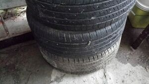 235-60-R16 3 tires M&S 245 75 R16 fore sale
