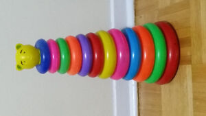 Fisher Price and Stacking Ring and Leapfrog (Toys)