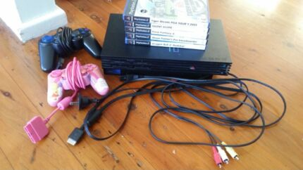 PS2 CONSOLE & CONTROLLERS & GAMES  Swansea Lake Macquarie Area Preview
