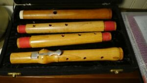 Baroque Boxwood flute, low & modern pitch by Ralph Sweet, mint