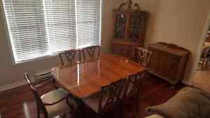 Ball and Claw dining room set