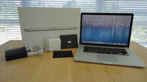 MacBook Pro Retina 2015 i7 2,2Ghz 16Go Apple Care Plus 2020