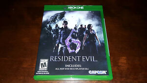Trade Resident Evil 6 for XBOX ONE for PlayStation 4 version