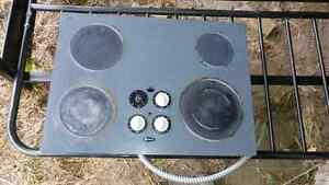Glass Stove Top, 4 Burner