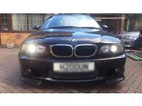 BMW e46 facelift chrome bonnet grills