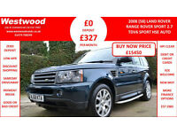 Land Rover Range Rover Sport 2.7TD V6 auto 2009MY HSE