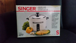 Singer rice cooker brand new in box