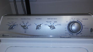 Maytag heavy duty / super size capacity washer and dryer pair