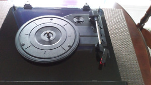 Turntable, CD and Mp3 digital player / converter