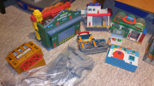 Thomas the train pack and play toys