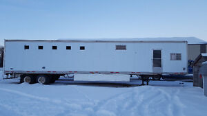 53 ft. Horse trailer with living quarters