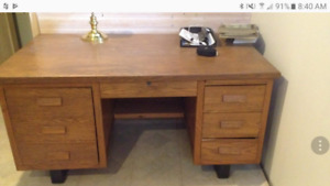 Antique desk from the 50s
