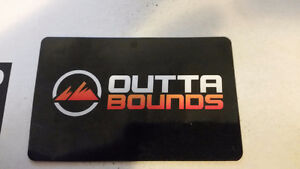 $100 Outta Bounds gift card to trade