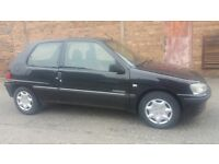 2002 Peugeot 106 1.1 independence powersteering low Insurance/tax