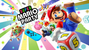 Super Mario Party brand new, sealed (nintendo switch)