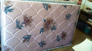 Double Bed Box Spring and Matress