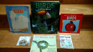 6 Birds information books for children