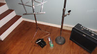 2 Mics and Mic stand