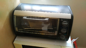 Black&Decker Toaster Oven! CLEAN!! Must go ASAP!