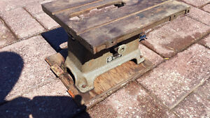 Table Saw with Motor. -cast iron antique