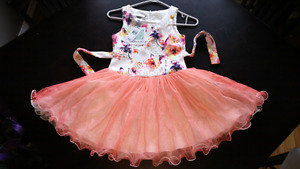 Floral lacy girls dress Never Worn