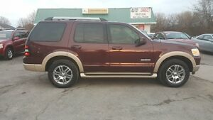 2007 Ford Explorer Eddie Bauer SUV ** FULLY LOADED 4X4 ** $9995