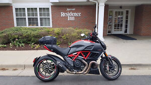 2012 Ducati Diavel Red Carbon w/Remus - $14,500 obo.