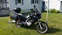 Moto BMW F650 1999 semi-route semi trail 3 valises