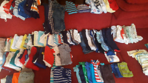 3-6 Months Boys Clothes - 100+ pieces Only $30