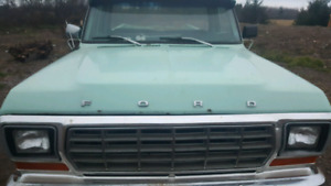 Parting out 1978 Ford F150 Ranger Parting Out
