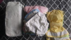 Couches Bumgenius Diapers + couches de nuit