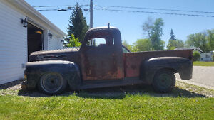 52 Ford f1, looking to trade for prewar Ford junk