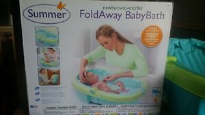 Summer Foldaway Baby Bath - Excellent Condition