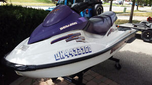 3 seater Seadoo- Lots of time left to enjoy