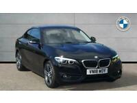 2018 BMW 2 Series 218d Sport Coupe Coupe Diesel Manual