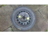 BMW spare wheel, space saver, from e36
