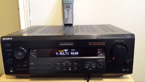 Sony 7.1 seround home theater amp with remote