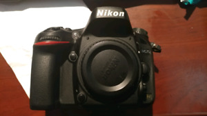 Nikon d610 full frame camera - priced right for quick sale