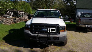 2007 Ford F-250 Pickup Truck with Snow Plow
