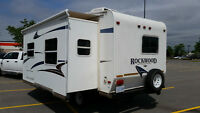 ROCKWOOD 24' FIFTH WHEEL FOR HALF TON TRUCK 6080 LB 13' SLIDE