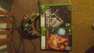 Controller and 2 games