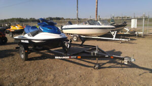 2014 Seadoo move 2 plave watercraft/PWC boat trailer