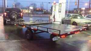 8x16 FlatBed TRAILER now only $ 1,800 !