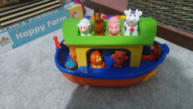 Noahs ark interactive toy