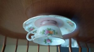 cup and saucer from occupied Japan