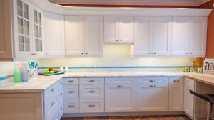 SHOWROOM DISPLAY, KITCHEN CABINETS AND COUNTERS FOR SALE